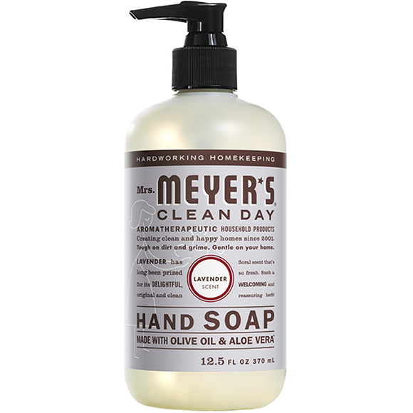 Mrs. Meyer's Lavender Liquid Hand Soap – 12oz