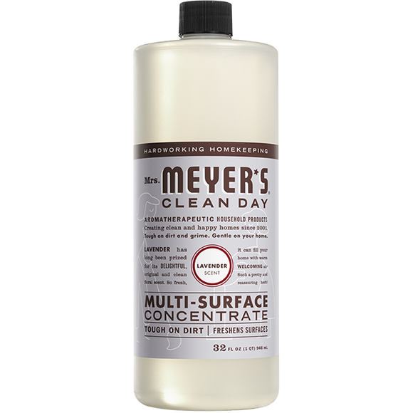Mrs. Meyer's Lavender Multi-Surface Concentrate – 32oz