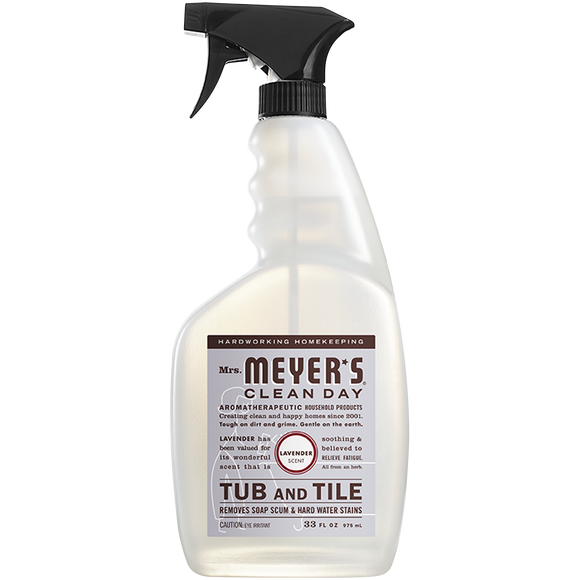 Mrs. Meyer's Lavender Tub & Tile Cleaner – 33oz