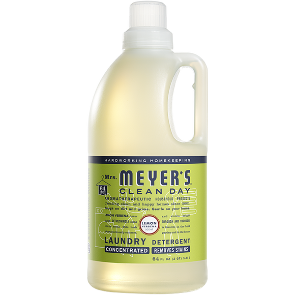Mrs. Meyer's Lemon Verbena Laundry Detergent – 64oz