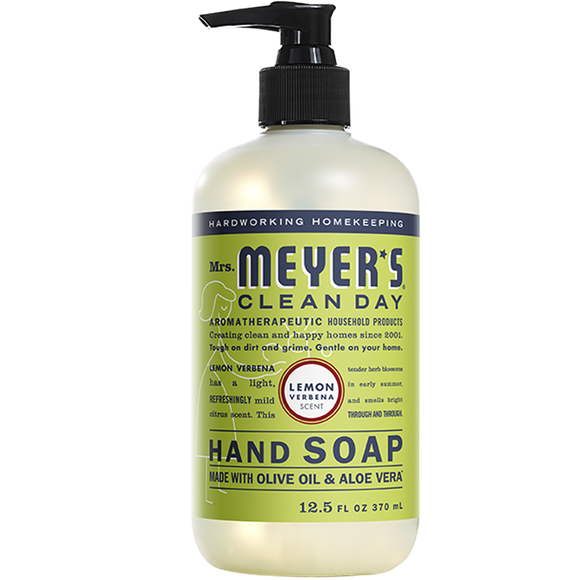 Mrs. Meyer's Lemon Verbena Liquid Hand Soap – 12oz