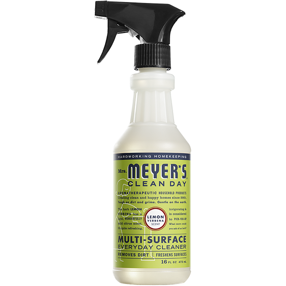 Mrs. Meyer's Lemon Verbena Multi-Surface Everyday Cleaner Spray – 16oz