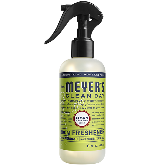 Mrs. Meyer's Lemon Verbena Room Freshener Spray – 8oz