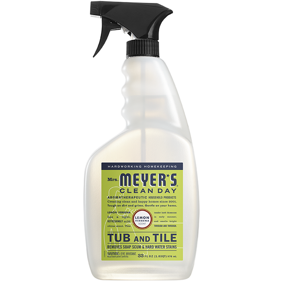 Mrs. Meyer's Lemon Verbena Tub & Tile Cleaner – 33oz
