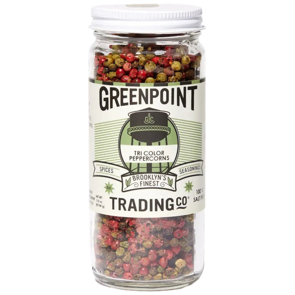 Greenpoint Trading Tri-Color Peppercorns – 3oz.