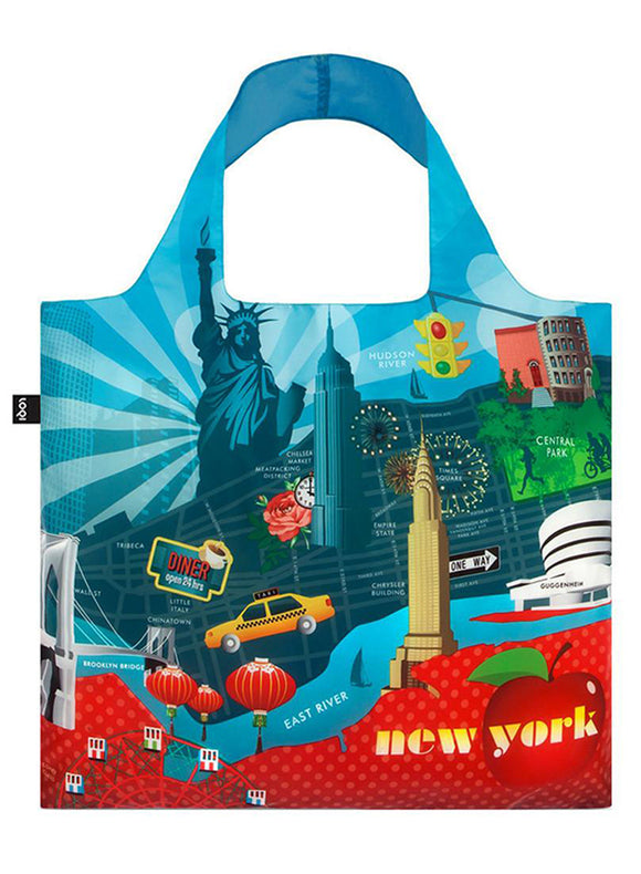 LOQI Reusable Tote Bag – Urban, New York