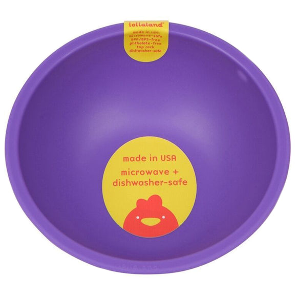 Lollaland Plastic Bowl – Purple