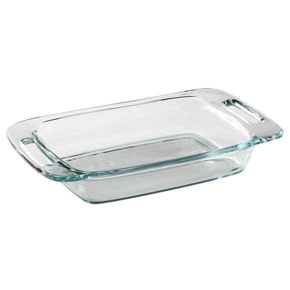 Pyrex Easy Grab Oblong Baking Dish, 2 Qt