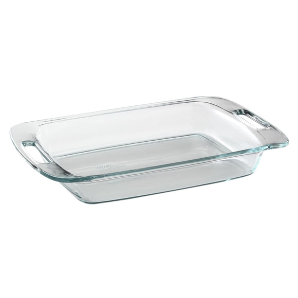 Pyrex Easy Grab Oblong Baking Dish, 3 Qt