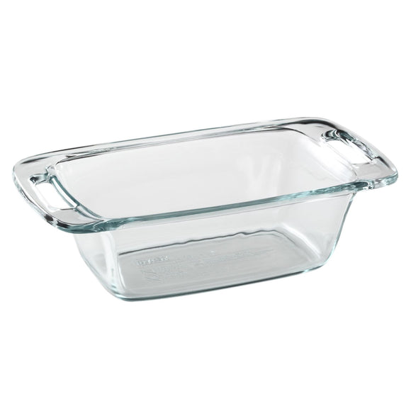 Pyrex Easy Grab Loaf Pan, 1.5 Qt