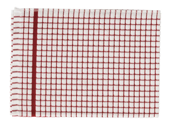 Samuel Lamont Poli Dri 100% Cotton Dish Towel – Red – Pack of 3