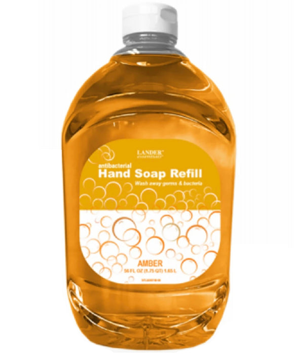 Lander Essentials Antibacterial Hand Soap Refill – 56oz
