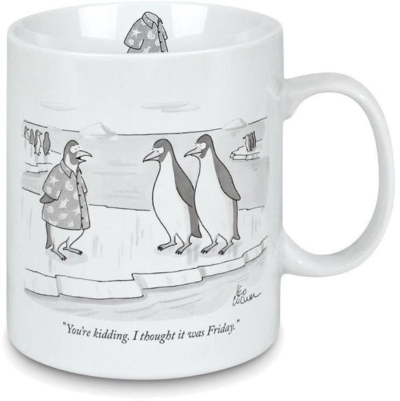 New Yorker Cartoon Mug - Casual Friday