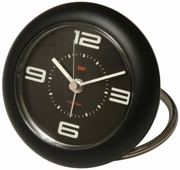 Bai Rondo Travel Alarm Clock – Velocity Black