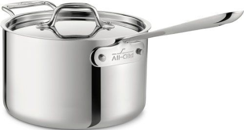 All-Clad Stainless 4 QT. Sauce Pan with Loop