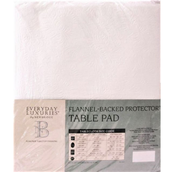 Flannel-Backed Table Protector Pad – 52