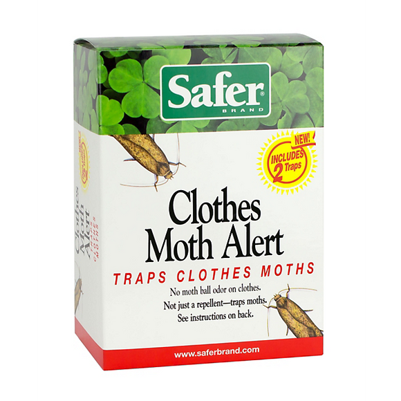 Safer Brand Clothes Moth Trap, 2 Pk