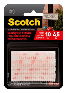 Scotch® Extreme Fasteners – Clear – 10lb