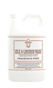 Le Blanc Silk & Lingerie Wash Fragrance Free – 64oz