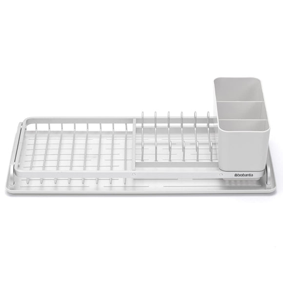 Brabantia Compact Dish Drying Rack –  Light Gray