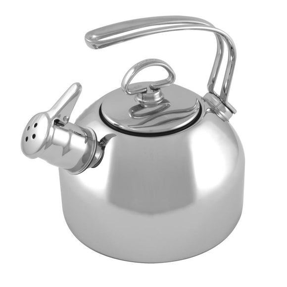 Chantal Classic Tea Kettle,1.8 Qt. - Stainless Steel