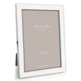 "Addison Ross White Enamel Photo Frame, 4"" x 6"""