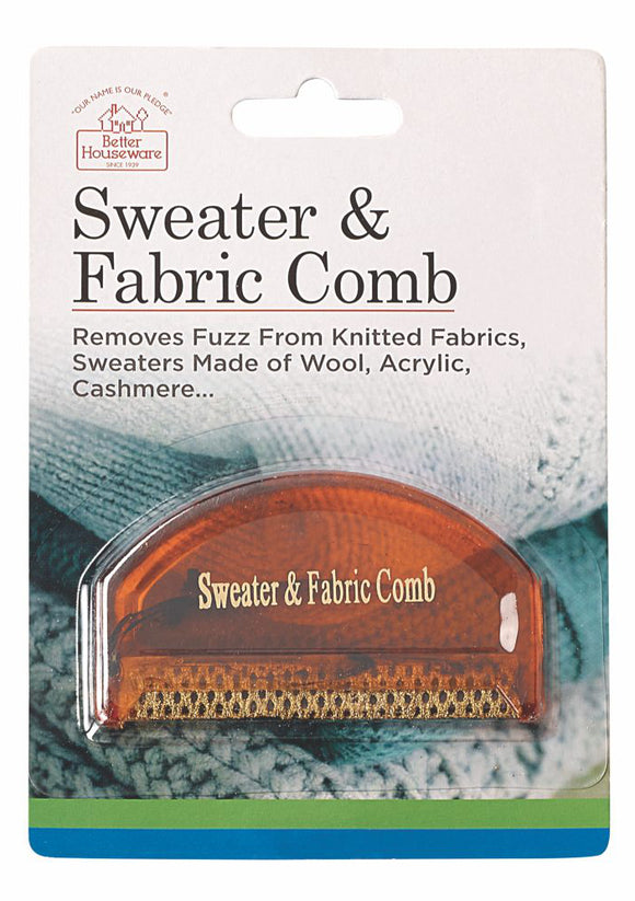 Sweater And Fabric Comb