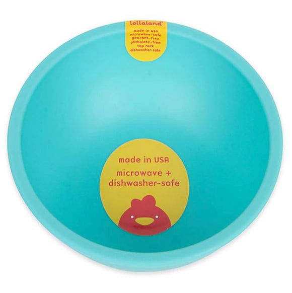 Lollaland Plastic Bowl – Turquoise