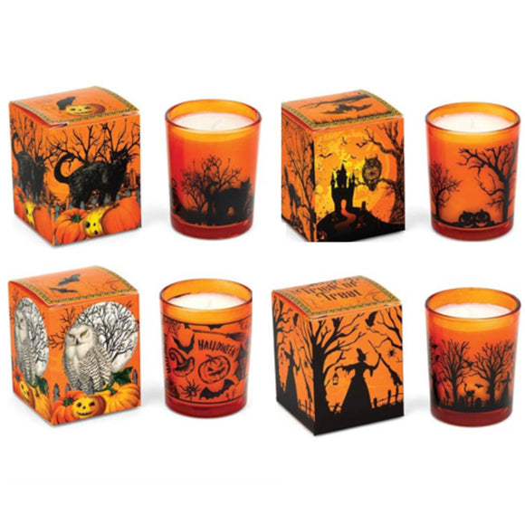 Halloween Votive Candles - Assorted