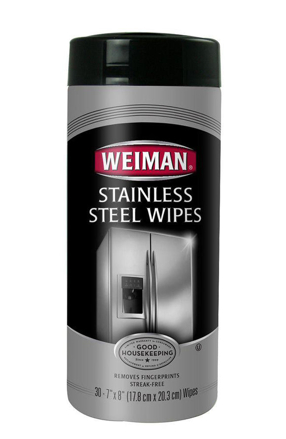 Weiman Stainless Steel Wipes - 30 Ct.