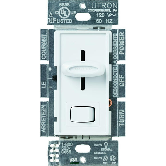 Lutron Skylark LED Dimmer – White