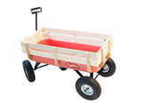 Toby All Terrain pull along cart - perfect for the garden as carries 100 kgs
