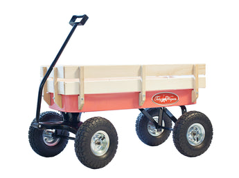 Pink All Terrain Pull Along Wagon Radio Flyer