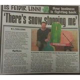 An article in the newspaper about our sister site www.sled.ie