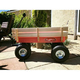 Toby All Terrain pull along cart - perfect for the garden