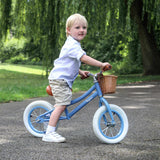 Baghera Vintage Balance Bike (Red, Pink or Blue)