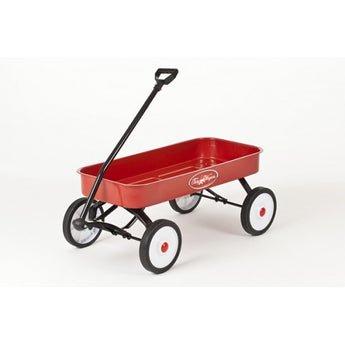 Toby Classic Pull Along Red Wagon / Cart / Trolley / Truck