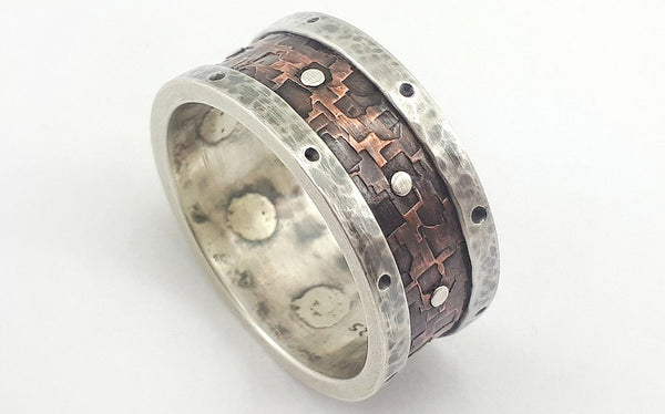 Viking wedding ring for men