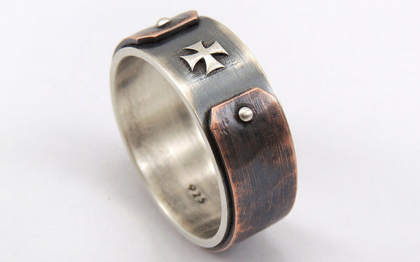 Celtic wedding band for men