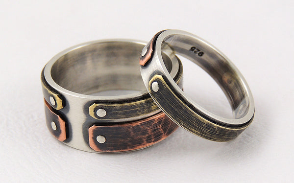 His and Hers Rustic Wedding Bands for your Rustic Wedding