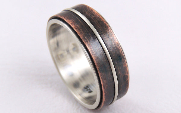 One-of-a-Kind Rustic Men's Ring