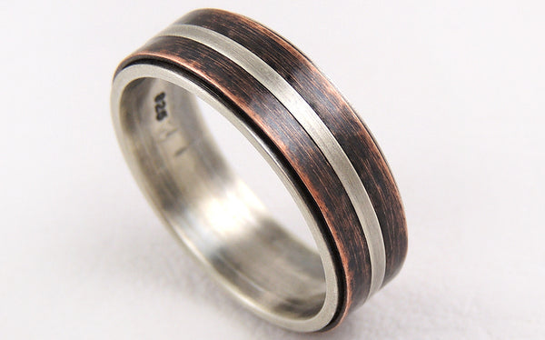 One-of-a-Kind Rustic Wedding Band for your rustic wedding