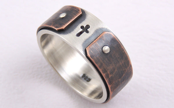 Unique Men's Wedding Band