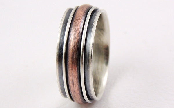 Unique mens ring