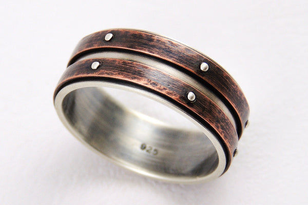 Unique wedding band ring