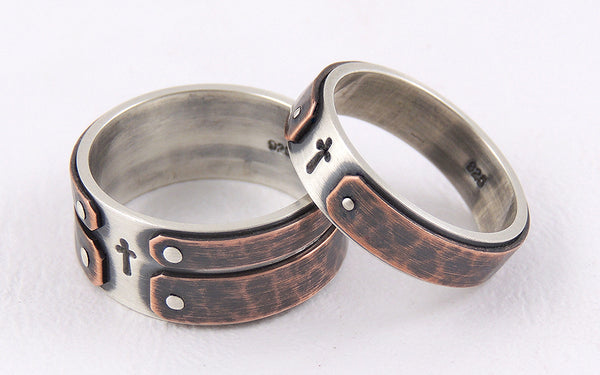 Wedding band his and hers