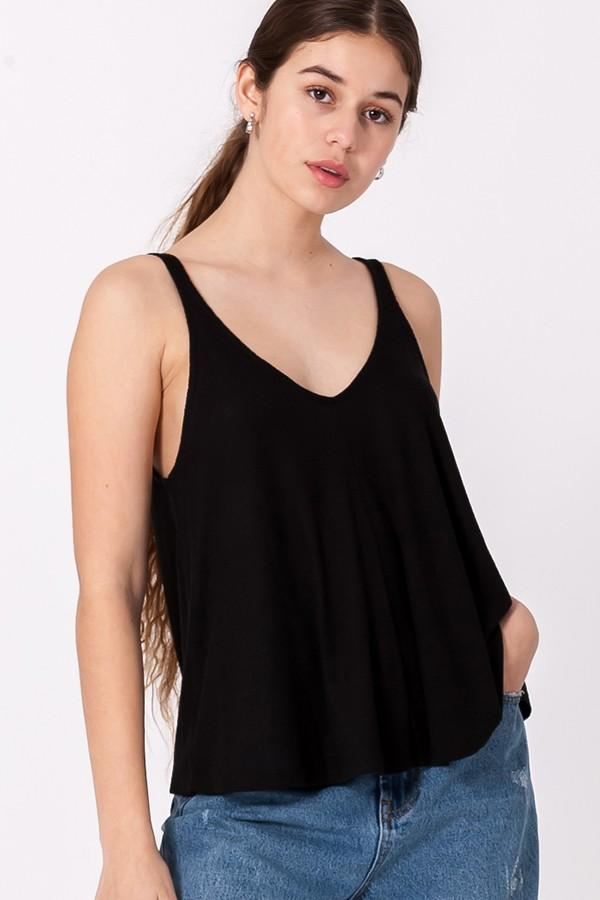 Everyday Swing Tank in Black - Nell and Rose