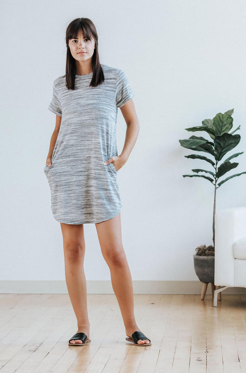 Carter T-Shirt Dress - Nell and Rose
