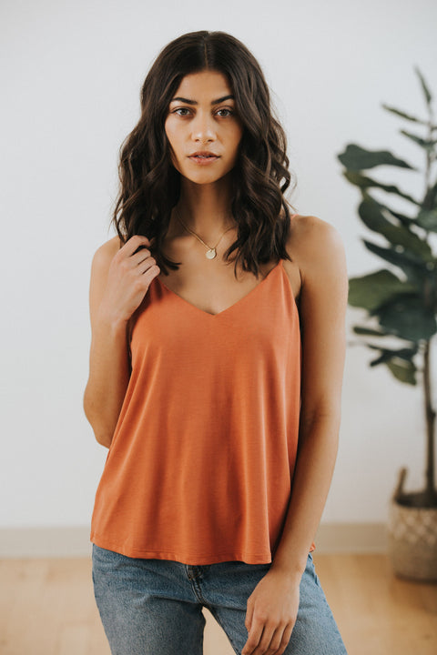Everyday Cami in Terracotta