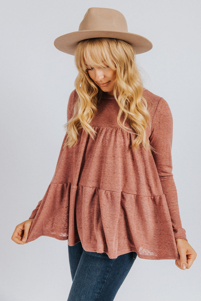 Gracie Tiered Top - Nell and Rose